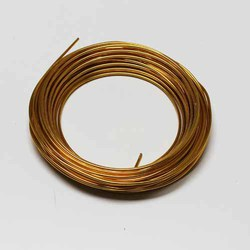 Gold 39'L Aluminum Wire-12 Gauge