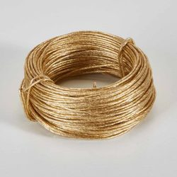 Gold 69'L Bind Wire - 28 Gauge
