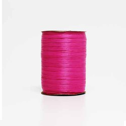 Beauty Pink Matte Raffia X 100 Yds