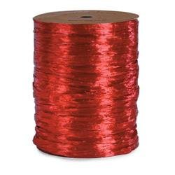 Imperial Red Pearl Raffia X 100 Yds