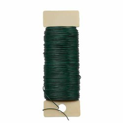Green 24 Gauge Paddle Wire